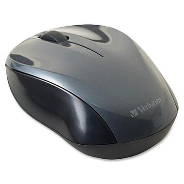 Verbatim® Nano Wireless Notebook Optical Mouse, Graphite