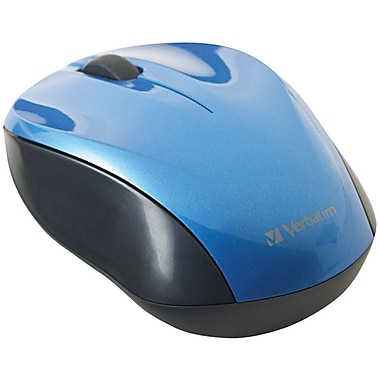 Verbatim® Nano Wireless Notebook Optical Mouse, Blue