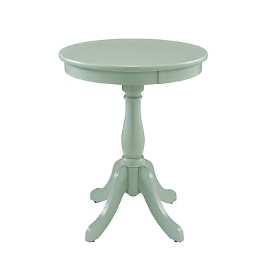 Powell Wood/Veneer Accent Table, Green, Each (268-352)