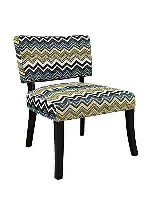 Powell Furniture Polyester Side Chair, Multi (383-494)