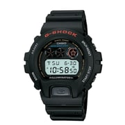 Casio® DW6900-1V G-Shock Men's Digital Countdown Alarm Sport Wrist Watch, Black