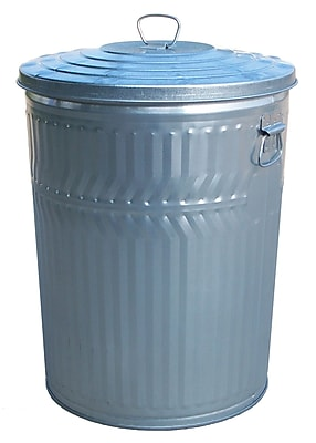 Witt Medium Duty Galvanized 32 Gallon Trash Can
