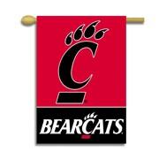 BSI Products NCAA 2-Sided Banner; Cincinnati