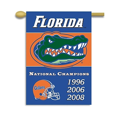 BSI Products NCAA 2-Sided Banner; Florida Gators - Champ Years