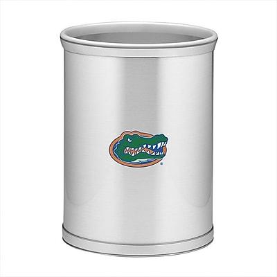 Kraftware Collegiate 3.25 Gallon Waste Basket; Florida