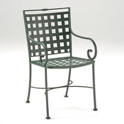 Woodard Sheffield Patio Dining Chair; Graphite