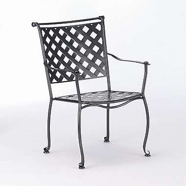 Woodard Maddox Stacking Patio Dining Chair; Sandstone