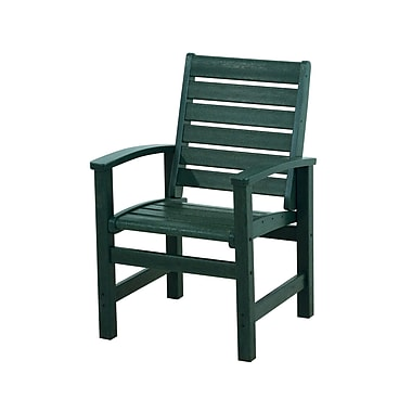 POLYWOOD Signature Dining Chair; Green