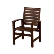 POLYWOOD  Signature Dining Chair; Mahogany