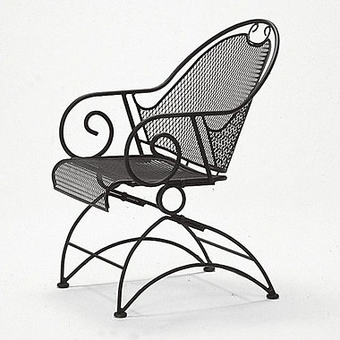 Woodard Cantebury Patio Dining Chair; Espresso