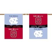 BSI Products NCAA House Divided 2-Sided Banner; North Carolina vs. North Carolina State