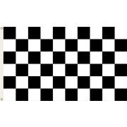 BSI Products NASCAR Traditional Flag; Checkered