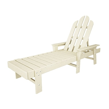 POLYWOOD Long Island Chaise Lounge; Sand