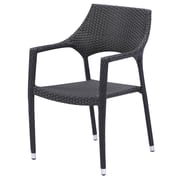 Source Furniture Tuscana Bistro Patio Dining Chair w/ Cushion; None- No Cushion