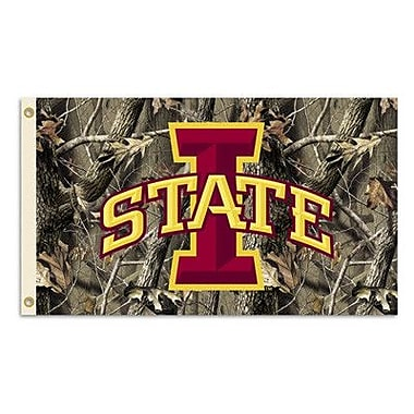 BSI Products NCAA Realtree Camo Traditional Flag; Iowa State