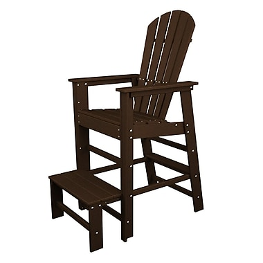 POLYWOOD South Beach 30'' Bar Stool; Mahogany