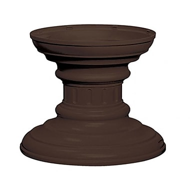 Salsbury Industries Regency 1 Ft. H Pedestal; Bronze