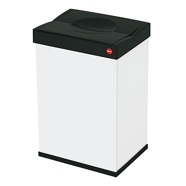 Hailo USA Inc. Big Box 10.6 Gallon Trash Can; White