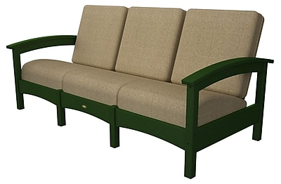 Trex Rockport Club Sofa; Rainforest Canopy / Sesame