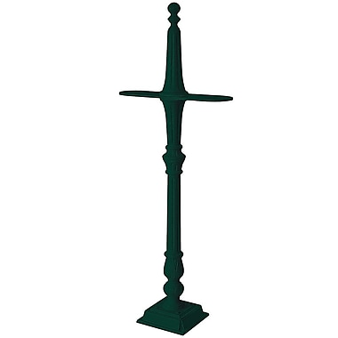 Salsbury Industries Classic 5 Ft. H Surface Multi-Mount Post; Green