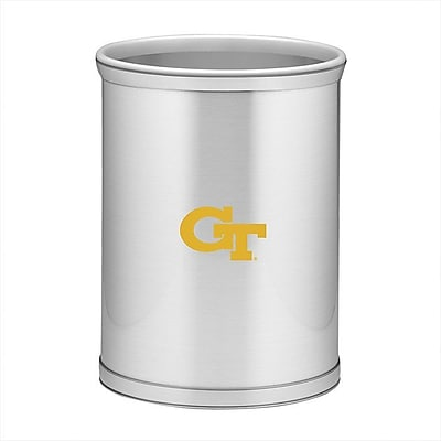 Kraftware Collegiate 3.25 Gallon Waste Basket; Georgia