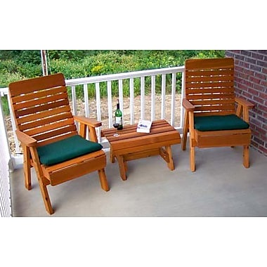 Creekvine Designs Cedar Twin Ponds Chair Collection; White Stain