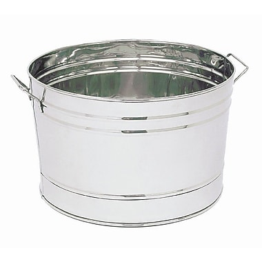 ACHLA Steel Beverage Tub; Stainless Steel