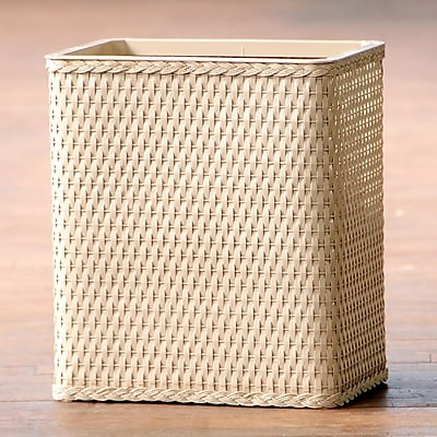 LaMont Carter Waste Basket; Linen