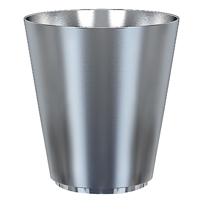 NU Steel Kingston 2.25 Gallon Waste Basket