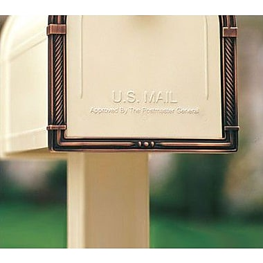 Architectural Mailboxes 3 Ft. H Pedestal; Sand
