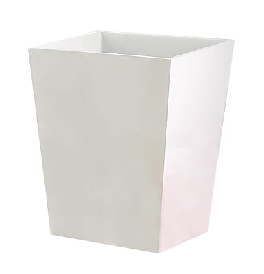 NU Steel Elegant 1.25 Gallon Waste Basket