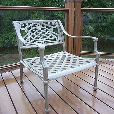 Oakland Living Tacoma Dining Arm Chair; Beach Sand