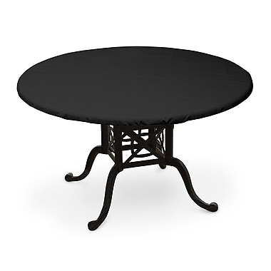 KoverRoos Weathermax Oval Table Top Cover; Black