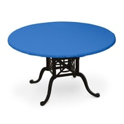 KoverRoos Weathermax  Oval Table Top Cover; Pacific Blue