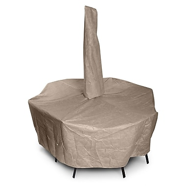 KoverRoos KoverRoos III Dining Set Cover w/ Umbrella Hole; 28'' H x 82'' W x 108'' D