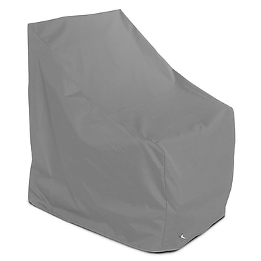 KoverRoos Weathermax Adirondack Chair Cover; Grey