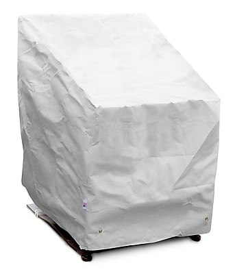 KoverRoos DuPont Tyvek High Back Chair Cover; 40'' H x 32'' W x 33'' D