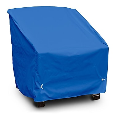 KoverRoos Weathermax Deep Seating High Back Chair Cover; Pacific Blue