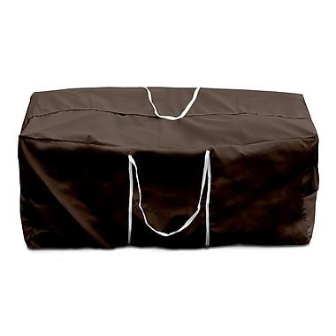 KoverRoos Weathermax Cushion Storage Bag; Chocolate
