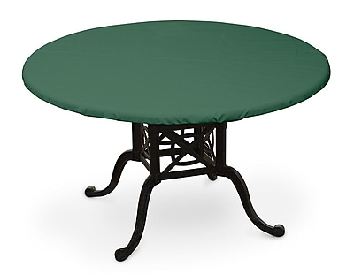 KoverRoos Weathermax Oval Table Top Cover; Forest Green