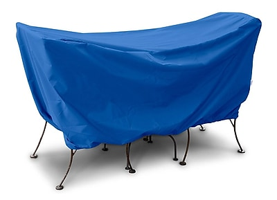KoverRoos Weathermax 3 Piece Cafe Set Cover; Pacific Blue