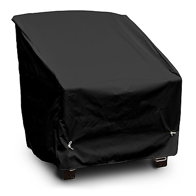 KoverRoos Weathermax Deep Seating Dining/Lounge Chair Cover; Black
