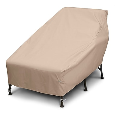 KoverRoos Weathermax Wide Chaise Cover; Toast