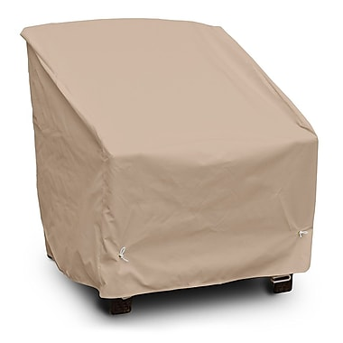 KoverRoos Weathermax Deep Seating Chair Cover; Toast