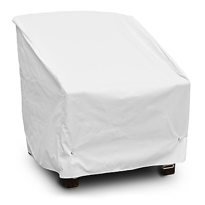 KoverRoos Weathermax Deep Seating High Back Chair Cover; White