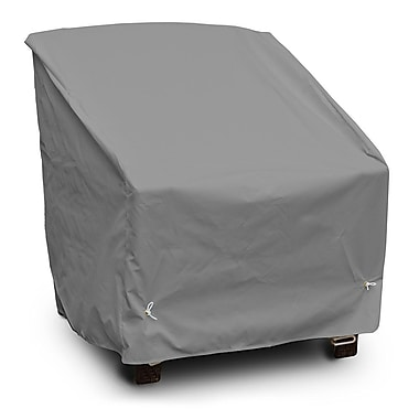 KoverRoos Weathermax Deep Seating High Back Chair Cover; Grey
