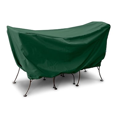 KoverRoos Weathermax 3 Piece Cafe Set Cover; Forest Green