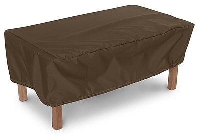KoverRoos Weathermax Companion Table Cover; Chocolate