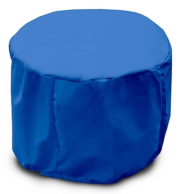 KoverRoos Weathermax Round Table Cover; Pacific Blue