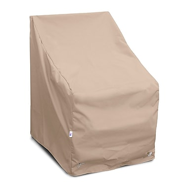KoverRoos Weathermax High Back Lounge Chair Cover; Toast
